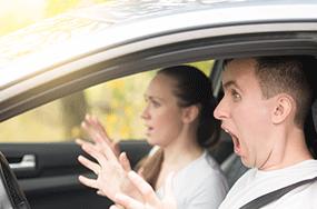 Audit de conduite sur route